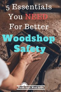 5 Essentials You Need For Better Woodshop Safety - There are many woodworking hazards that you have to protect yourself and visitors to your woodshop from. Having good workshop safety rules and keeping a tidy, well lighted woodshop with proper tool and material storage will improve woodworking safety in the woodshop. Learn woodworking safety tips you can easily apply to your woodshop.