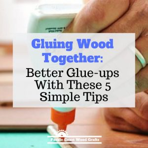 Gluing Wood Together - Better Glue-ups With These 5 Simple Tips - Learning to glue up your woodworking DIY projects is not difficult. These tips will give you good wood joints that will last